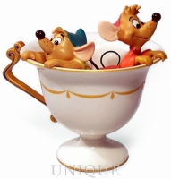 Walt Disney Classics Collection Gus & Jac in Teacup
