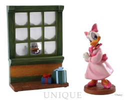 Walt Disney Classics Collection Scrooge and Daisy: Reflections of Christmas Past