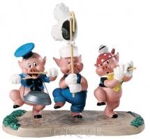 Walt Disney Classics Collection Three Little Pigs: Triumphant Trio