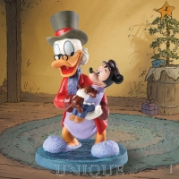 Walt Disney Classics Collection Scrooge and Tiny Tim: Tidings of Joy and Goodwill