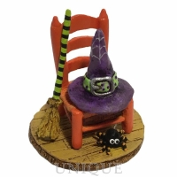 Wee Forest Folk Witchy's Hip Hat & Broom