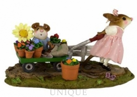 Wee Forest Folk  Mommy's Garden Helper - Pink