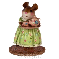 Wee Forest Folk A Cosy Tea- Spring