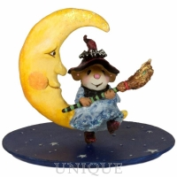 Wee Forest Folk Broom to the Moon!