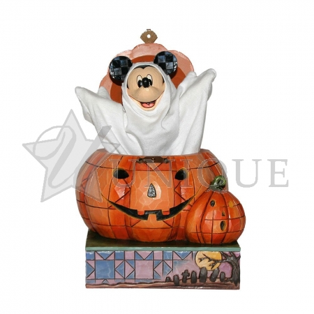 Mickey Popping Out of a Pumpkin