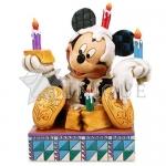 Mickey with Birthday Cake