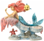 Ariel Dreaming Under The Sea Figurine