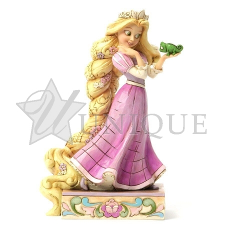 Rapunzel and Pascal Figurine
