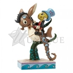 Jiminy Cricket on Sea horse
