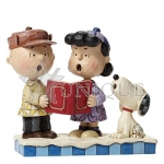 Charlie Brown, Lucy and Snoopy