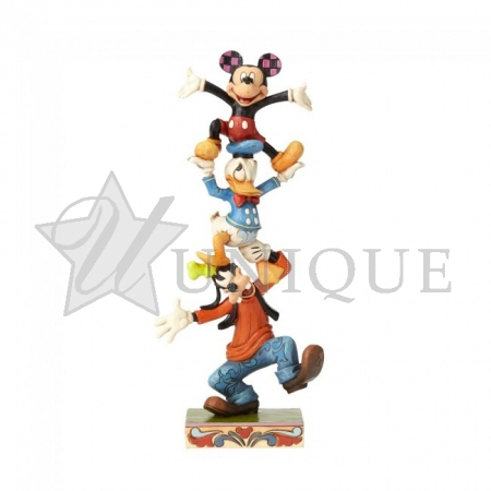 Goofy Donald and Mickey