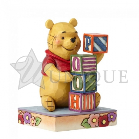 Pooh with Baby Blocks