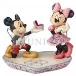 Mickey Proposing to Minnie