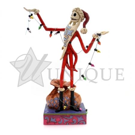 Santa Jack with Christmas Lights