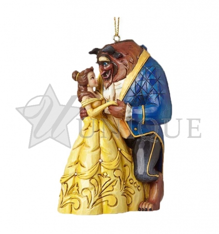 Belle and Beast Ornament