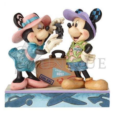 Travel Mickey and Minnie