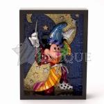 Sorcerer Mickey Pop Art Block
