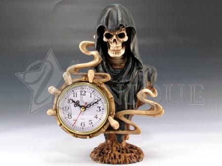 Grim Reaper clock