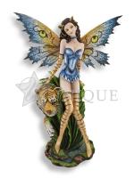 Sassy Jungle Tigress Fairy with Tiger