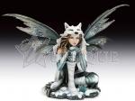Snow wolf fairy