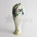 Long tail hummingbird: Tall Vase