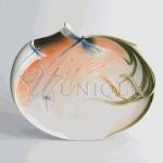 Dragonfly: Porcelain Platter