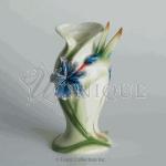 Long Tail Hummingbird: porcelain candleholder