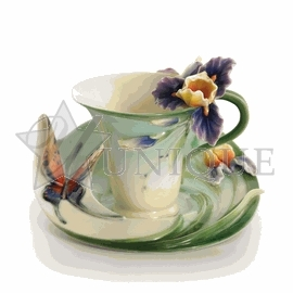 Butterfly: Cup & Saucer