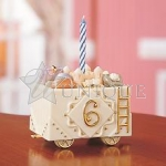 Sensational Six Birthday Train Car