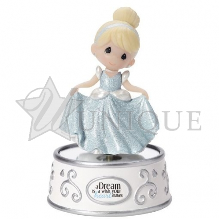 """A Dream Is A Wish Your Heart Makes"" Rotating Music Box"