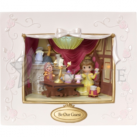 """Be Our Guest"" Deluxe Lighted Music Box"