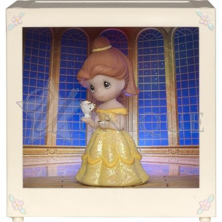 """Belle"" Resin/Vinyl LED Shadow Box"
