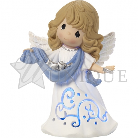 """Hark! The Herald Angels Sing"" Musical Lighted Figurine"