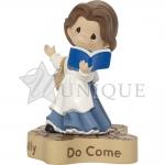 "Belle Figurine ""Dreams Really Do Come True"""