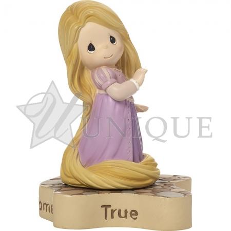 """Rapunzel Figurine """"Dreams Really Do Come True"""""""