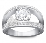 Vitality White Ring