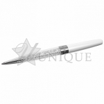Crystalline Stardust Pen, White