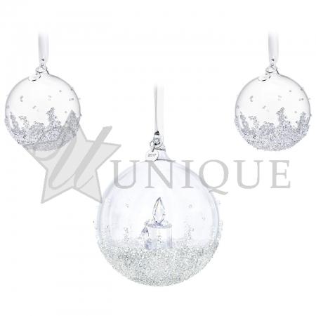 Christmas Ball Ornament Set, Annual Edition 2017