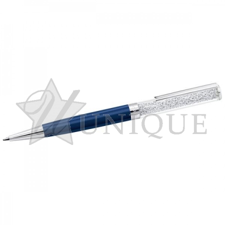 Crystalline Ballpoint Pen, Dark Blue