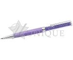 Crystalline Ballpoint Pen, Purple