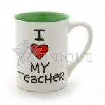 I Heart My Teacher Mug