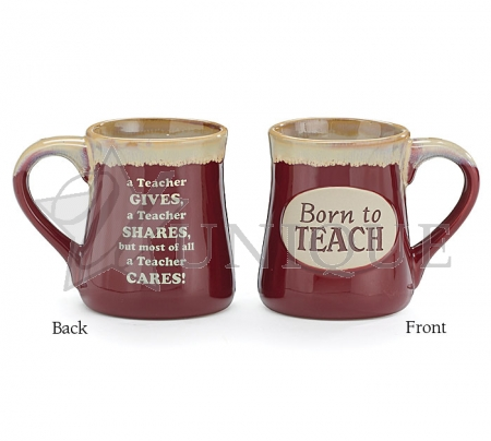 MUG BORN TO TEACH