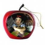 Snow White Apple Ornament: Sweet Surprise