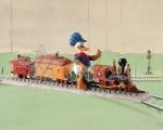 Donald Duck: Backyard Whistle Stop