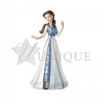 Belle in Blue Dress