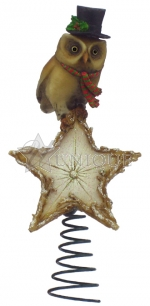 Hooting Star Tree Topper