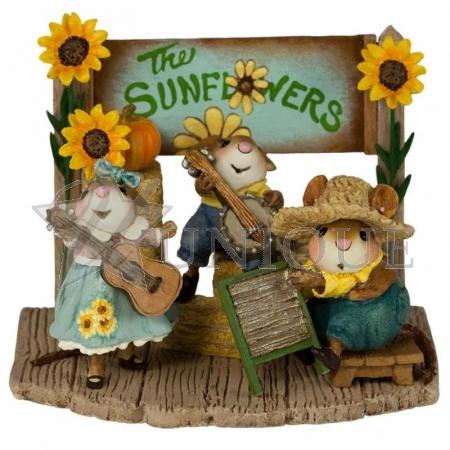 The Swinging Sunflowers