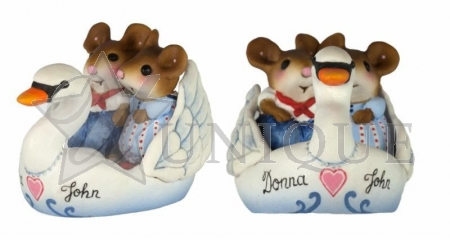 Swanboat Sweethearts Personalized